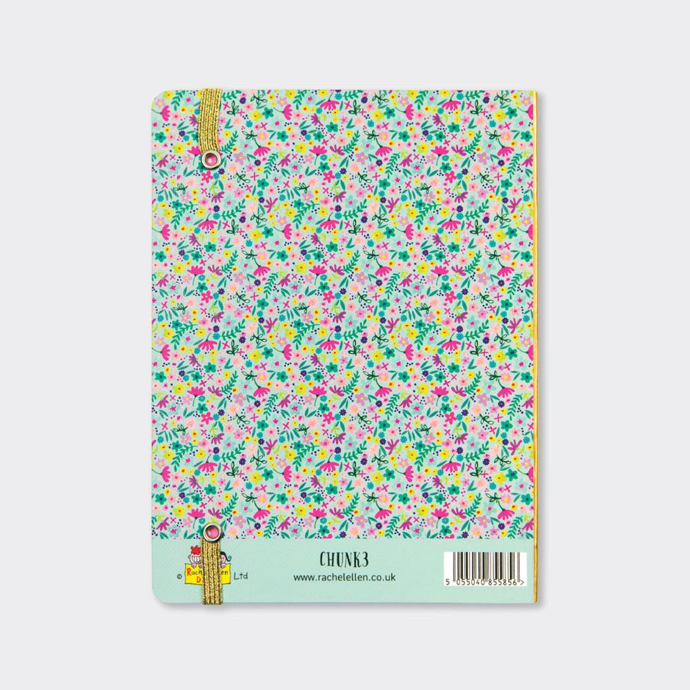 Rachel Ellen Chunky 400 Page Notebook Woodland Creatures Design Journal Gift