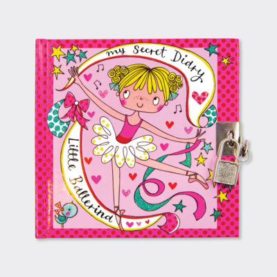 Hair Accessories Ballerina Design Rachel Ellen Zipped Tin