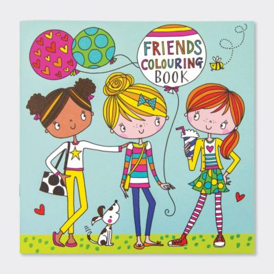 Friends Colouring Book Rachel Ellen Designs