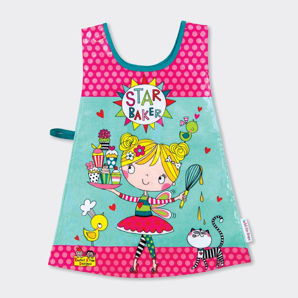 Princess /& Unicorn Pink Childrens Tabard Girls Apron Birthday Gift Rachel Ellen